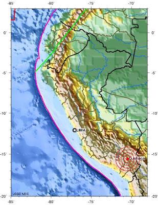 peru earthquake 2011 december 28