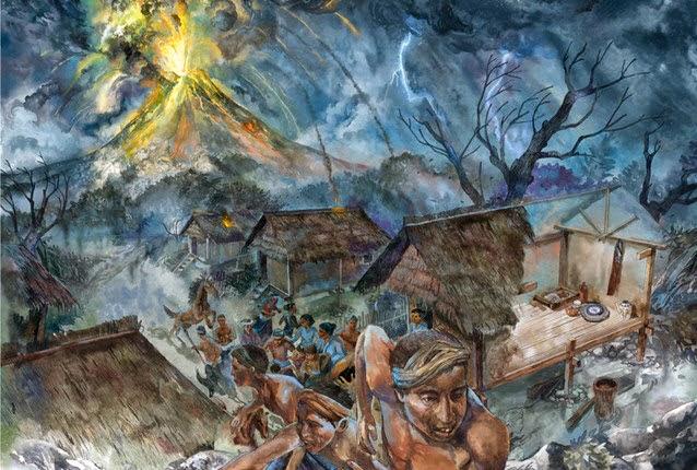 Sejarah Kerajaan Tambora yang Ikut Musnah Bersama Letusan Tambora