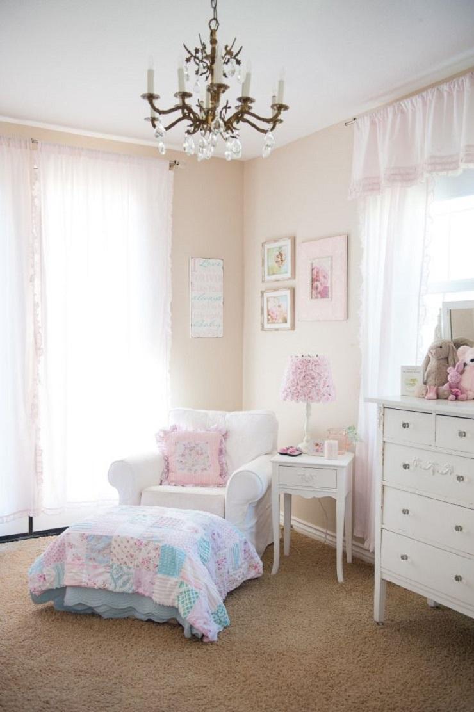 Pienen tytön huoneen sisustus
