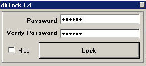 How to Lock your files with a Password