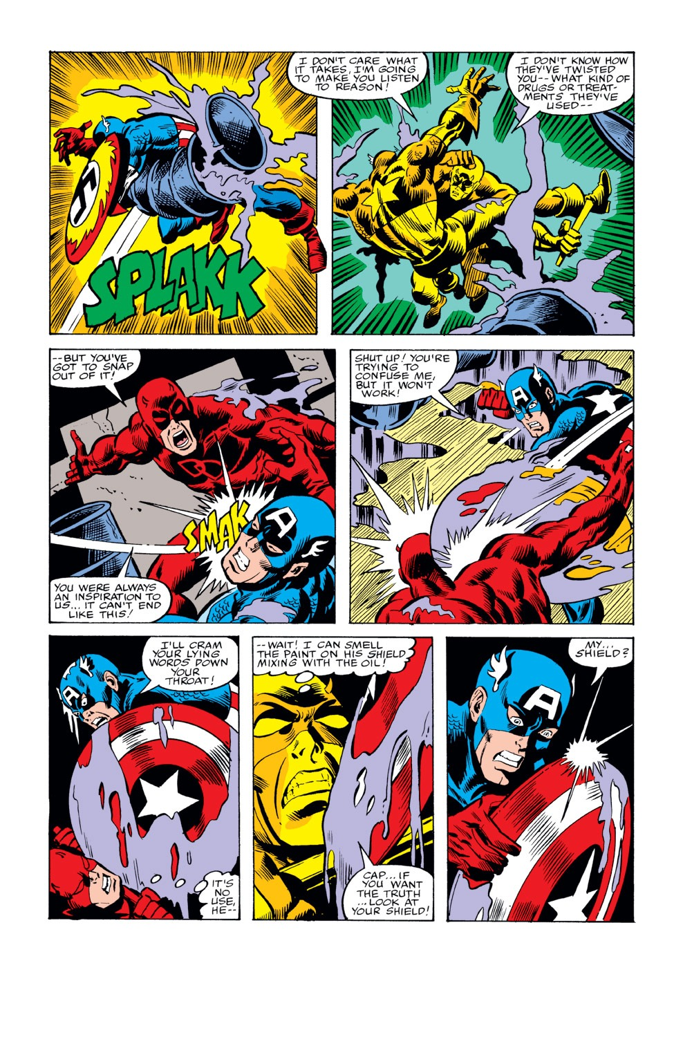 Captain America (1968) Issue #234 #149 - English 17