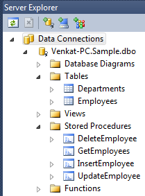 Insert Update Delete using stored procedures in LINQ to SQL