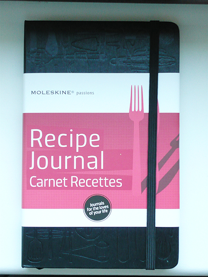 Moleskine Recipe Journal mit Manschette