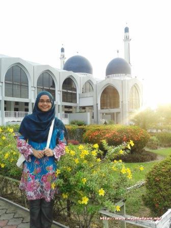 masjid kubang kerian kota bharu kelantan, masjid cantik, masjid indah, masjid lawa, masjid berkubah ungu