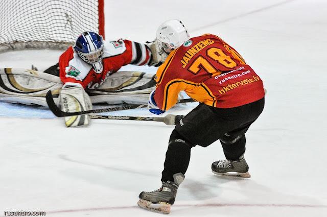 EHL RZ divīzija play off Tērvete Olaine
