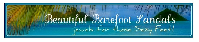 Foot Jewelry from Beautiful Barefoot Sandals.com