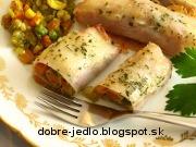 Zapekaná zelenina v šunke - recept