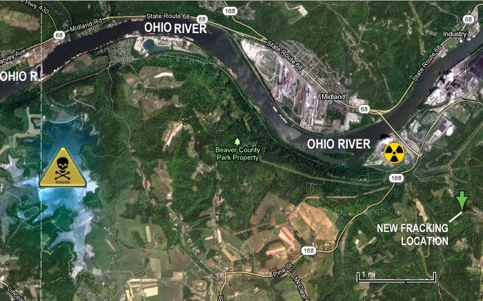 Fracking Trifecta: Nuclear Accident, Toxic Coal Ash Spill into Ohio River, Fracking-Induced Earthquake