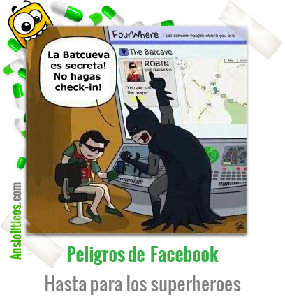 Chiste de Batman y el Check-in