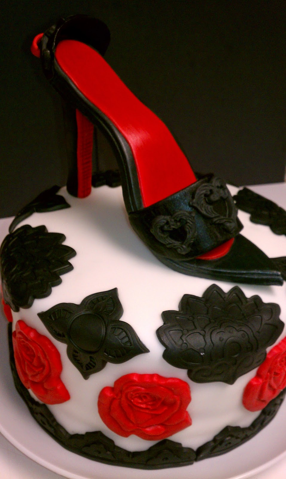 The Birthday Cake Beautiful Shoe To A Dear Miscellaneous Garden