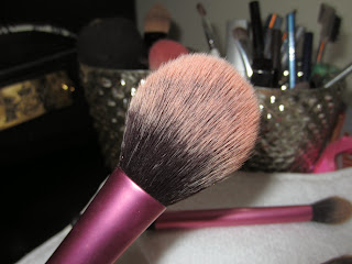 real techniques blush brush review