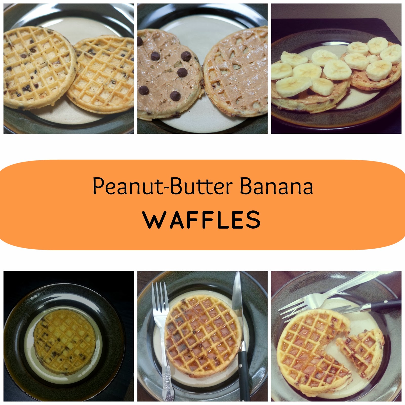 Bacon-Banana Waffle Sandwich With Peanut Butter And Maple Syrup Recipe ...