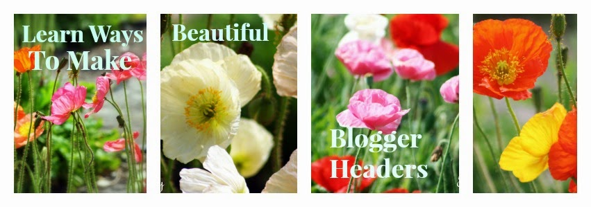Create, style and upload a blogger header tutorial