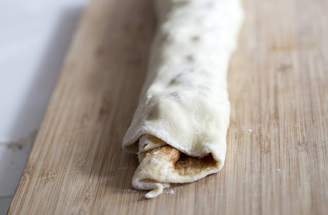 Apple Pie Cinnamon Rolls Zimschnecken
