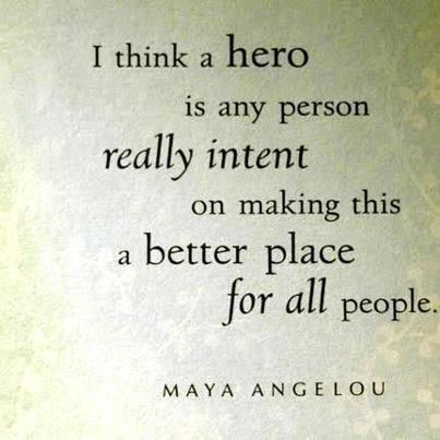 define a hero in an essay
