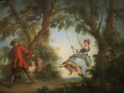 The Swing by Nicholas Lancret