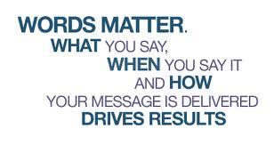 Image result for words matter