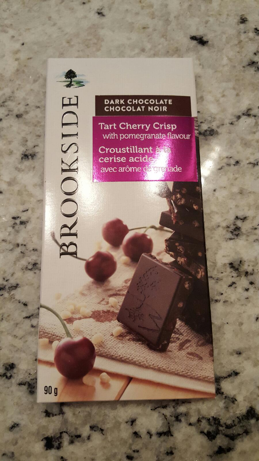 BrookSide Chocolate Bar Review
