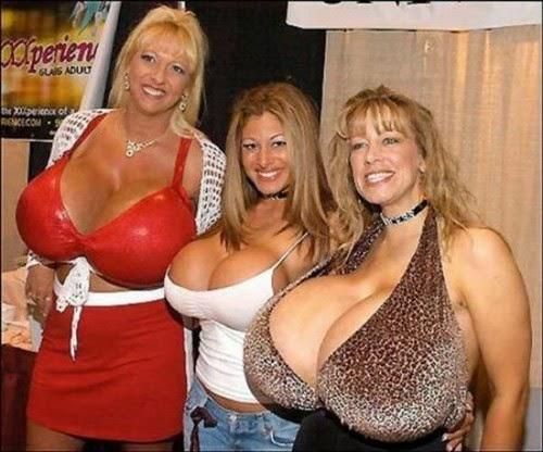 نساء لديها أكبر الصدور في العالم!