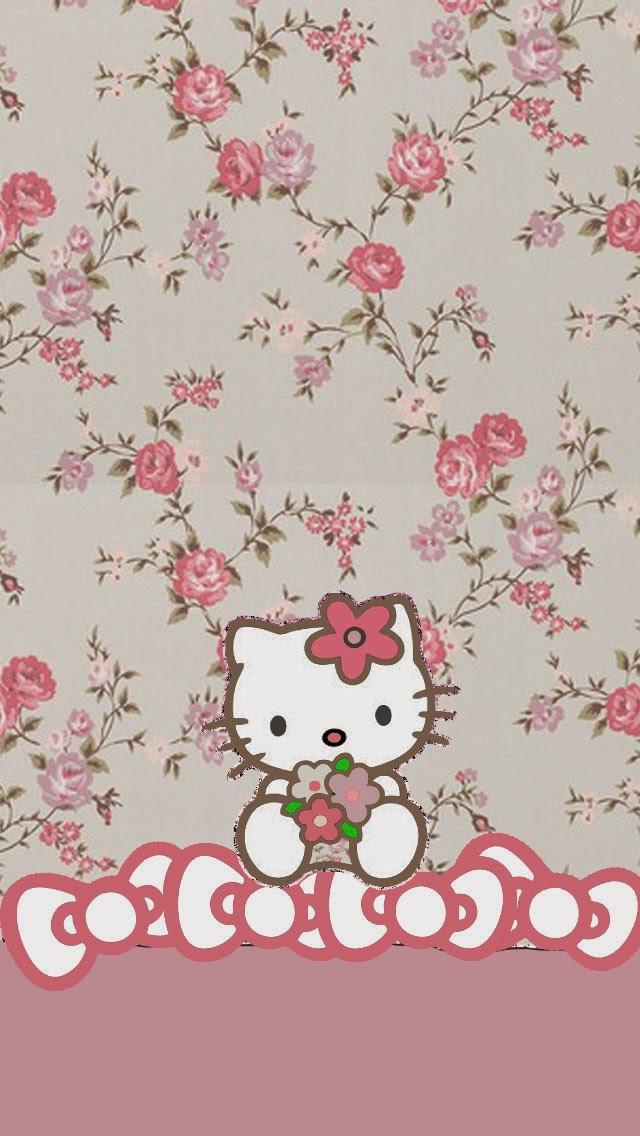 wallpaper iphone 5 pink kitty - photo #44