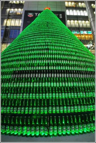 Шанхайская пивная ёлка фото