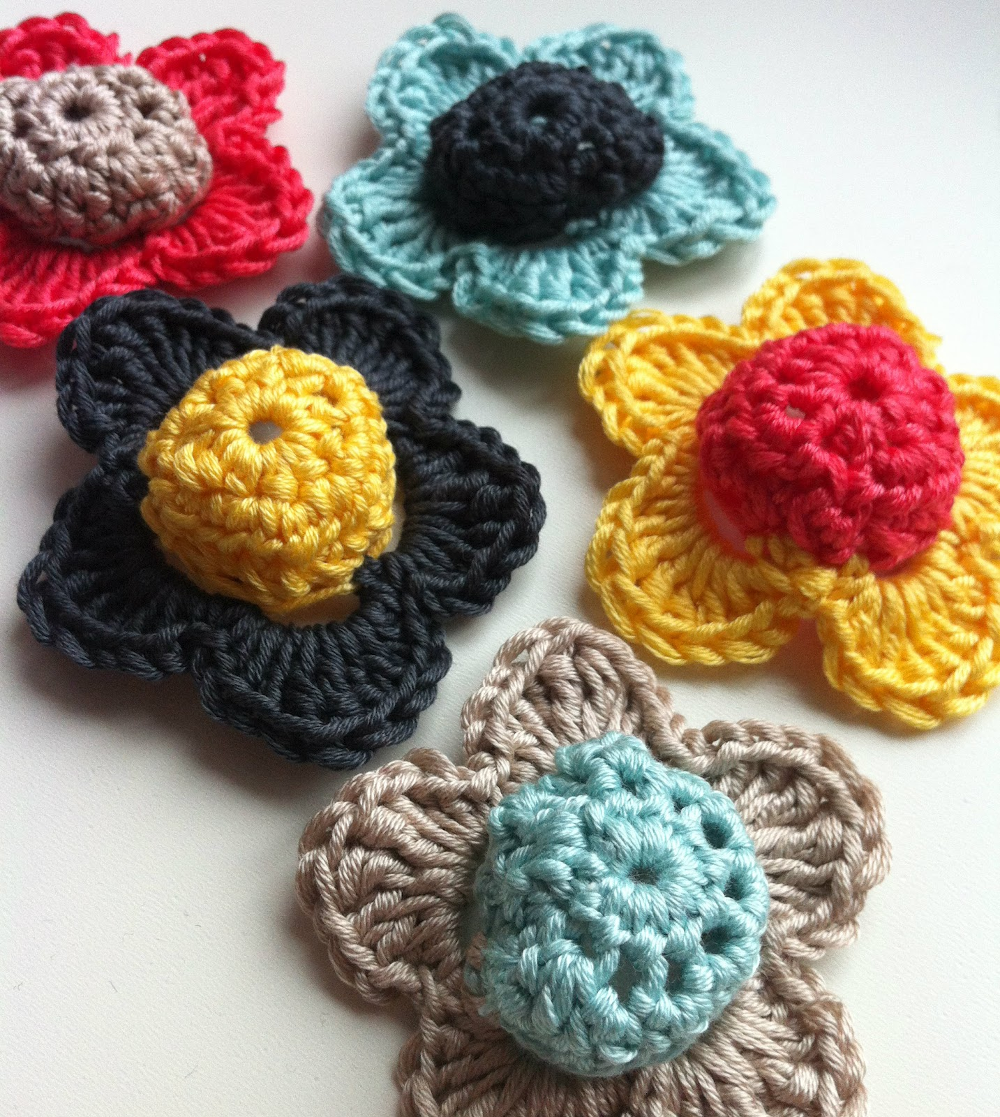 the blooming times simple but lovely crochet flowers
