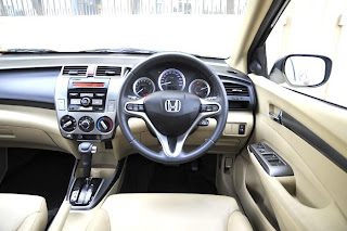 City's high driving position like most hondas is spot-on.