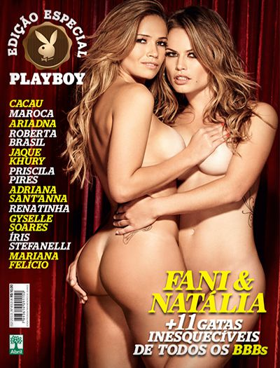 As 13 Mais Gatas do BBB: Playboy Especial Fevereiro 2013