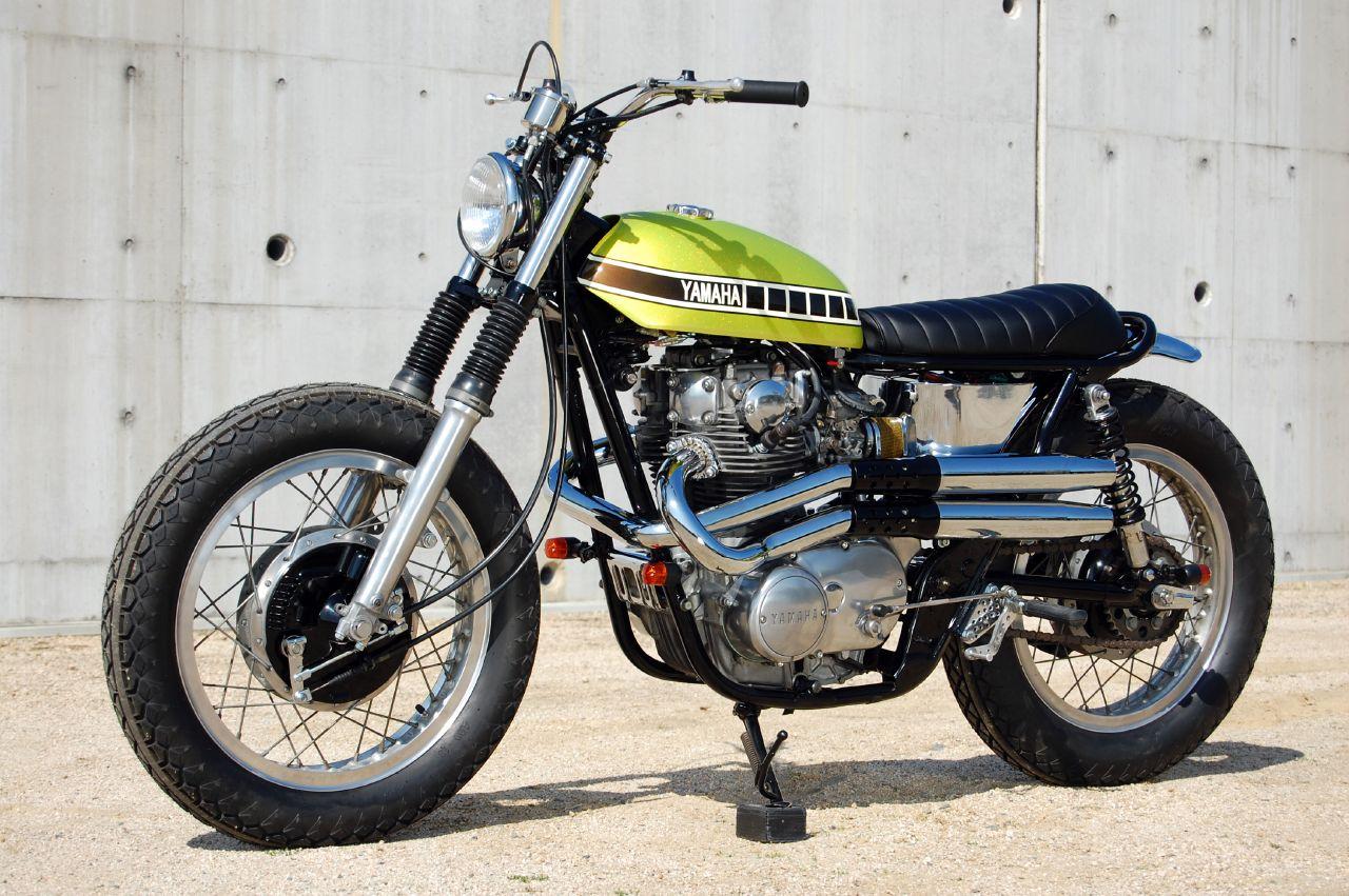 Custom Yamaha XS650 Street Tracker