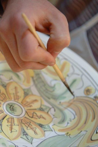 Ceramiche e dintorni fasi di lavorazione ceramica for Decorazione ceramica