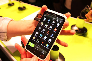HTC One X menu