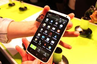 HTC One X menu