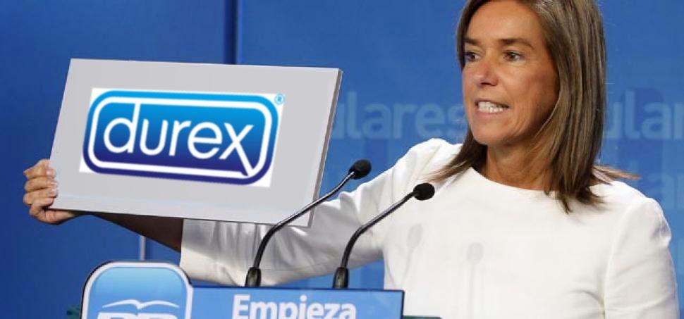 """Ana Mato"",""dimite"",""dimisión"",""Jaume Matas"",""cárcel"",""Alfonso Guerra"",""corrupción"",""corrupto"",""control"",""condón"",""preservativo"",""Durex"""