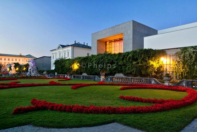 Mozarteum Salzburg - Arch. Rechenauer - Foto Andrew Phelps