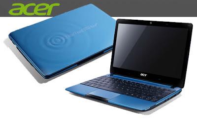 Spesifikasi dan Harga Laptop Acer Aspire One 722