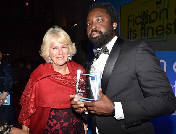 The Duchess Of Cornwall Presented The 2015 Man Booker Prize