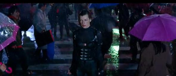 resident evil retribution 2012 movie in 3-D fifth resident evil movie adaptation starring Milla Jovovich