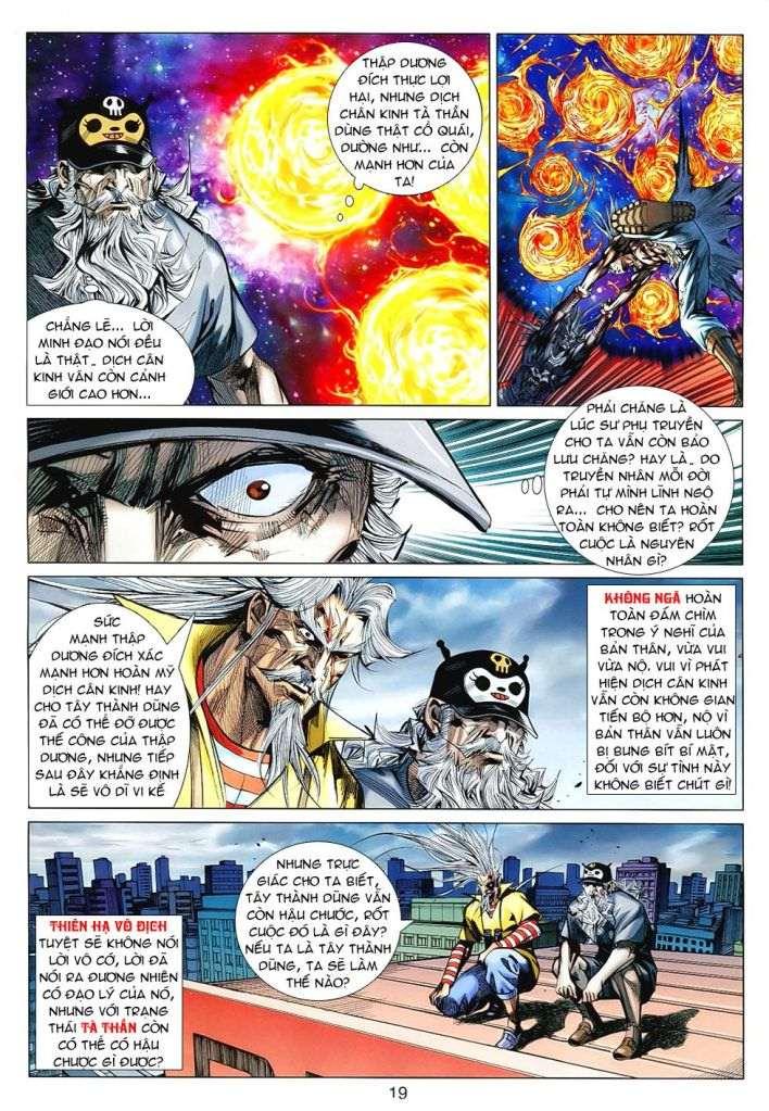 Hoả Vân Tà Thần II chap 99 - Trang 19