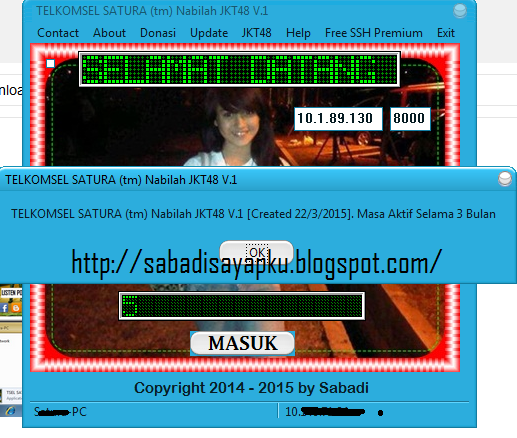TELKOMSEL SATURA (tm) Nabilah JKT48 V.1