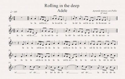 "Tutorial ""Rolling in the deep"""