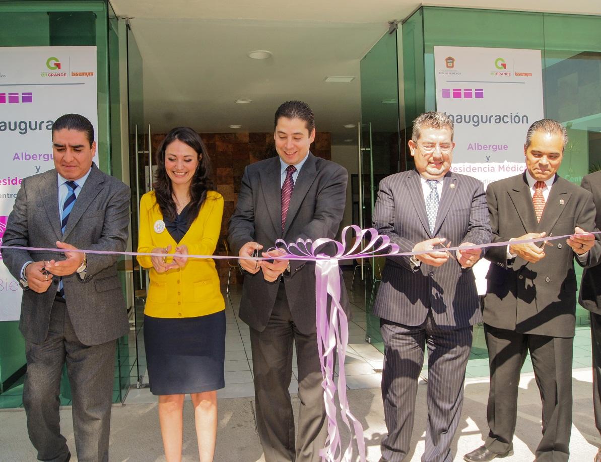 Inauguran albergue para derechohabientes en Centro Médico Issemym ...