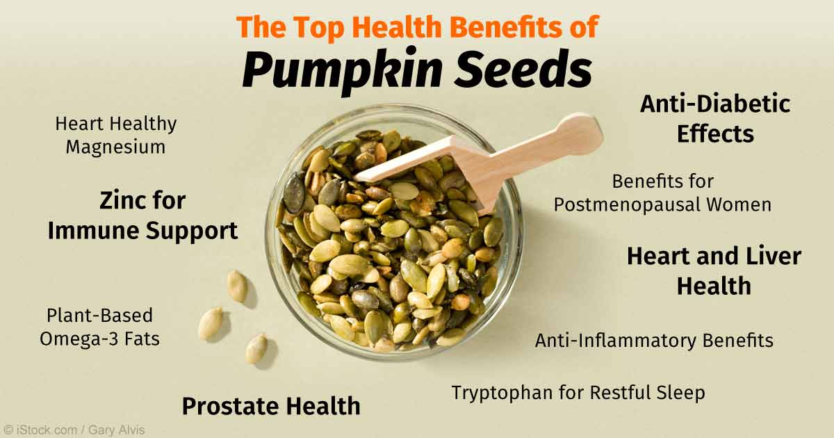 benefits pumpkin seeds