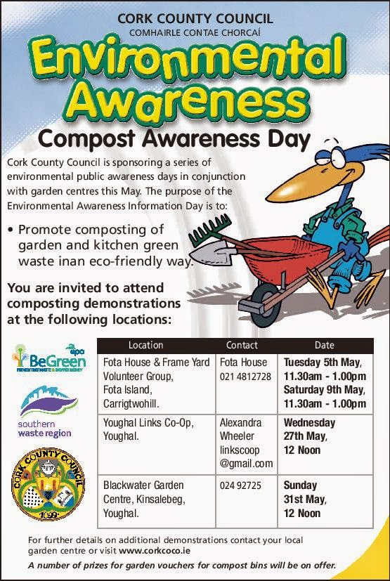 compost awareness sessions east cork from this sat - Cork Garden 2015