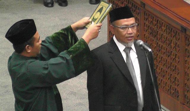 Adang Sudrajat Lengkapi Formasi Fraksi PKS DPR