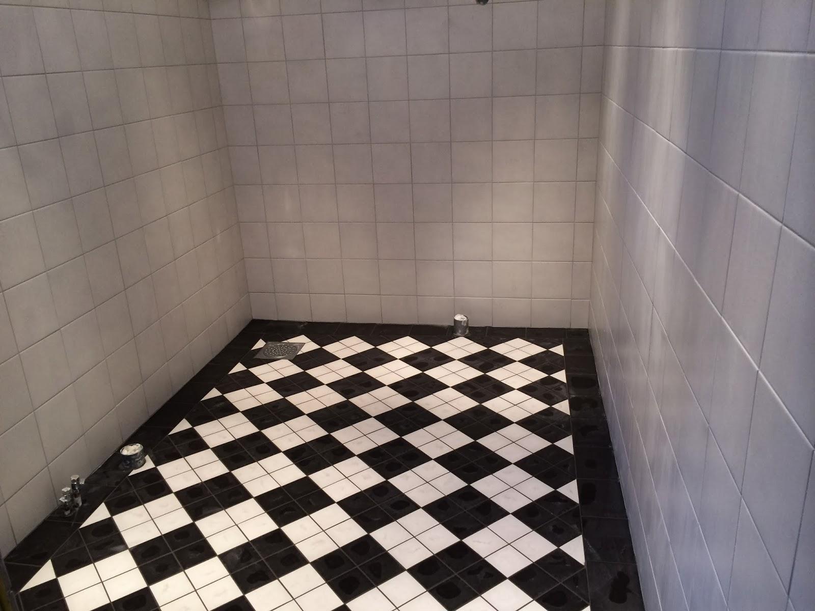 Min lantliga dröm: badrummet tar form
