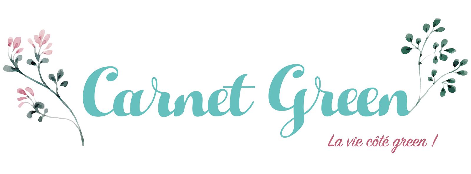 Carnet Green – beauté, bien-être, lifestyle au naturel