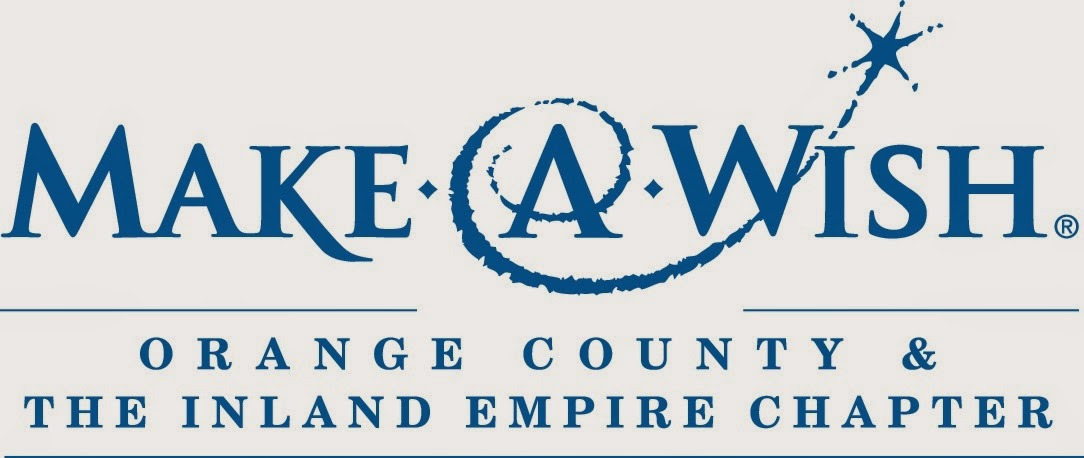 """Make-A-Wish Foundation logo with a star graphic over text reading, """"Orange County & The Inland Empire Chapter"""""""