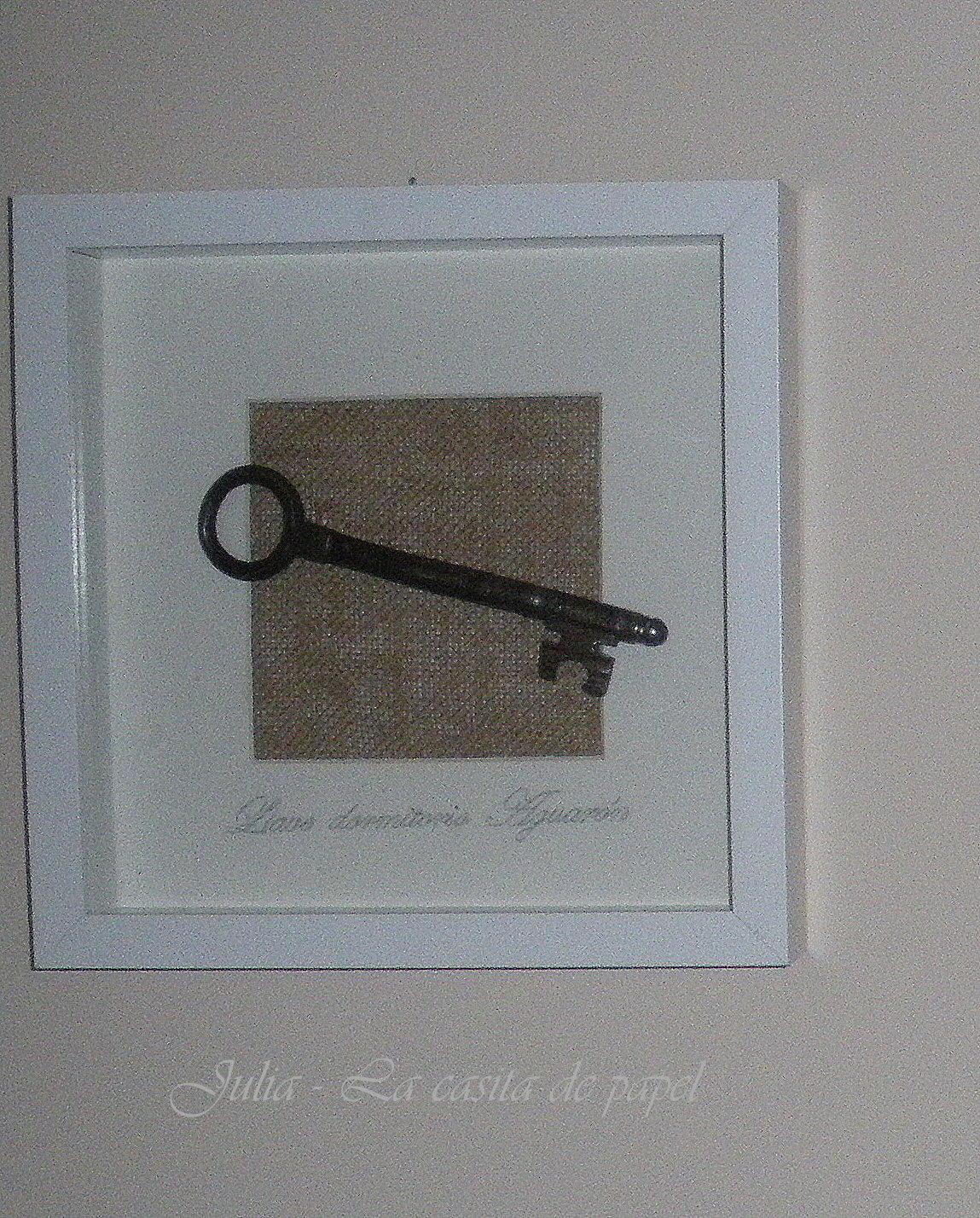 La casita de papel llave antigua for Llaves de bano antiguas