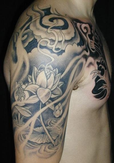 Designing Tattoos on Temporary Tattoo And Painless Accessories  Sleeve Tattoo Designs Black