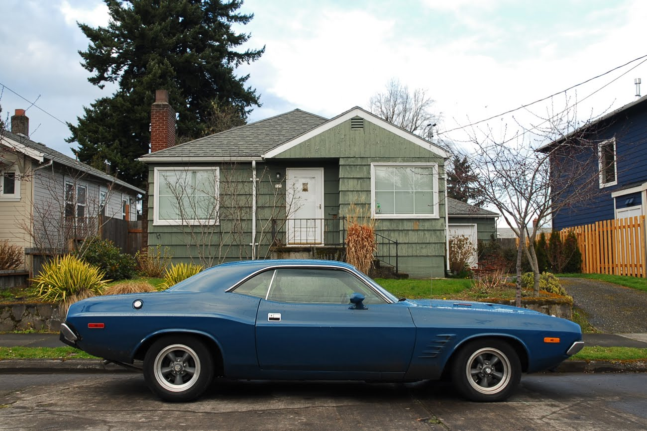 Old Parked Cars 1973 Dodge Challenger